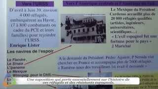 Mémoire et Histoire des Républicains Espagnols - Édition 2015 à Avallon (89)