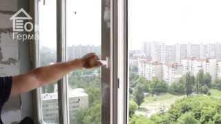 видео Алюминиевая раздвижная система - современное решение для интерьеров