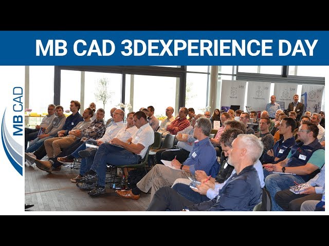 MB CAD 3DEXPERIENCE DAY - Eindrücke unseres Kundentages