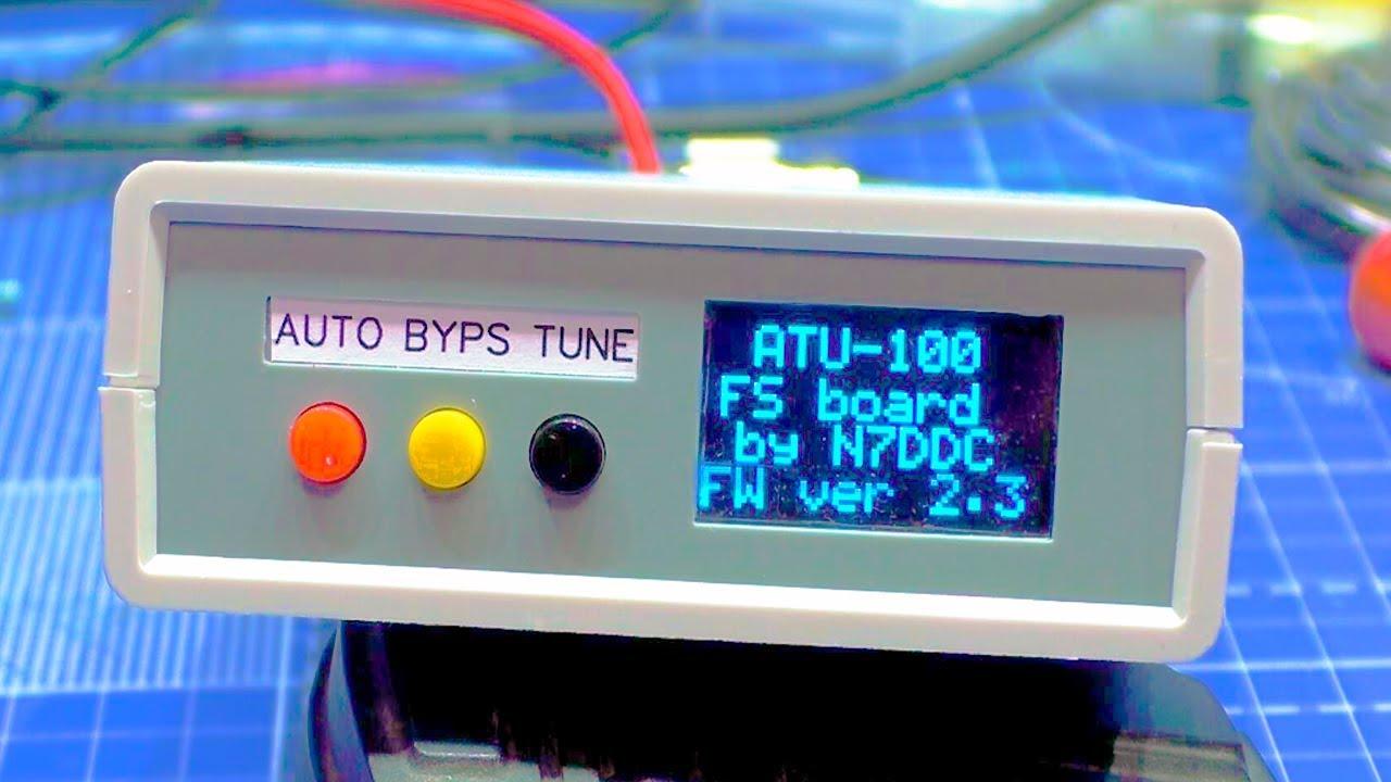 Самодельный Автотюнер N7DDC 7x7 в корпусе GAINTA G760