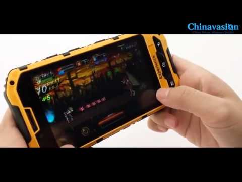 WaterProof + GPS and Military Standard Rugged Android 4.1 Smartphone