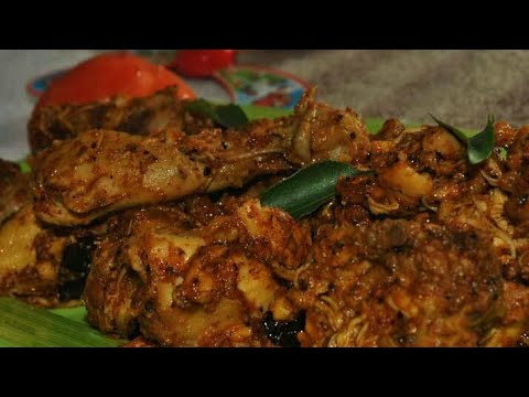 Indian chicken recipe in village – out door cooking