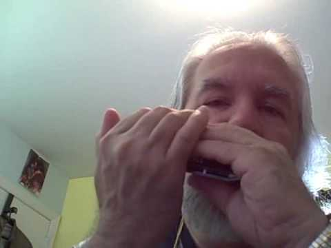 Amazing Grace Chromatic Harmonica 'C' - YouTube