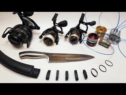 How To Repurpose Bike Tire Tubes For Fishing Gear | CHEAP Tackle Hack