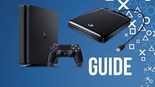 PS4 External Hard Drive Guide (Update 4.50)