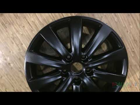 Покраска дисков Черный мат VW T5
