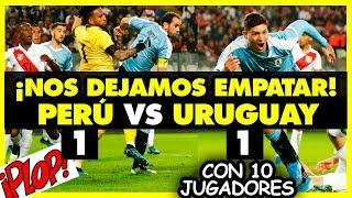 URUGUAY Y PERÚ  EMPATAN (1-1) - AMISTOSO INTERNACIONAL - SELECCION PERUANA - 2019