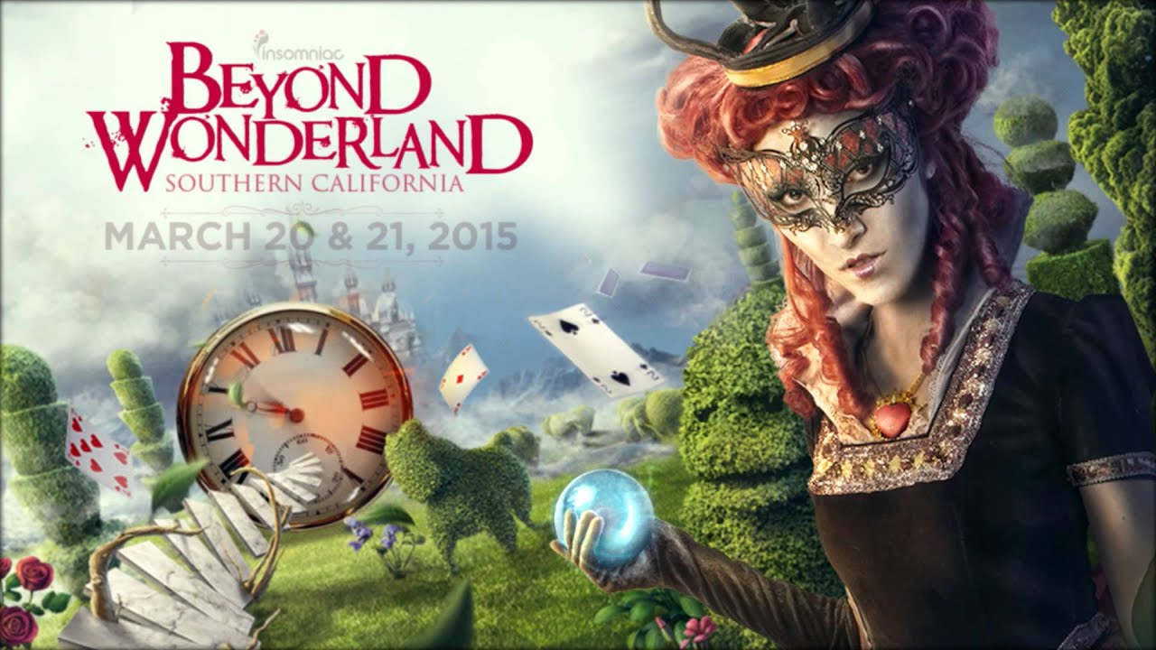 Hd Wallpaper For Desktop With Quotes Beyond Wonderland Socal 2015 Announcement Teaser Youtube