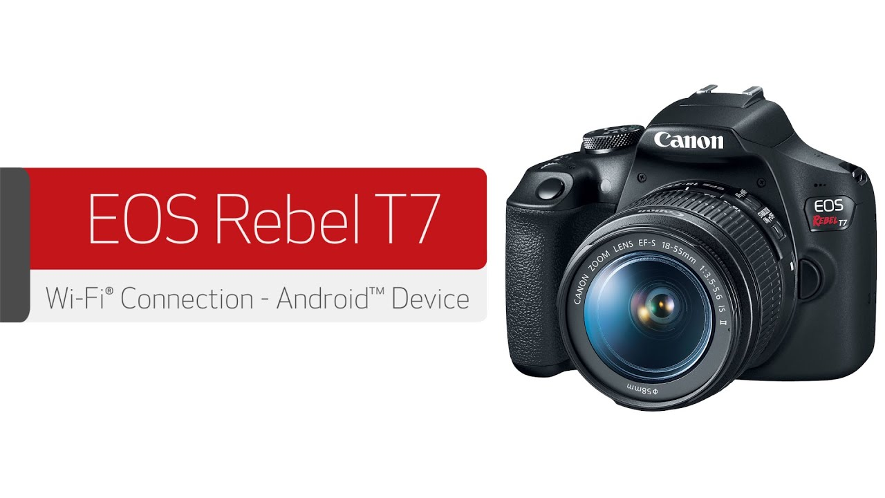 Support Dslr Eos Rebel T7 Body Canon Usa