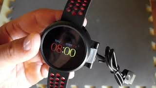 smart watch LYNWO M9 Review & connect to app - Banggood.com