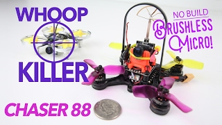 WHOOP KILLER - Eachine Chaser 88 Micro Brushless Quad Review