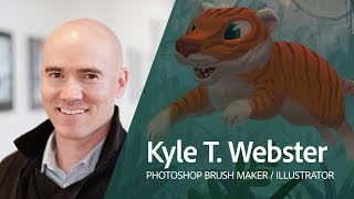 Live Digital Painting with Kyle T. Webster (KyleBrush) 1/3