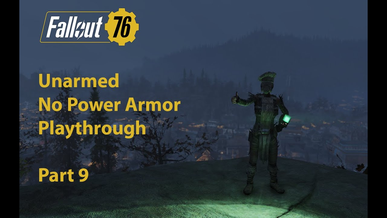 fallout 76 unarmed weapons