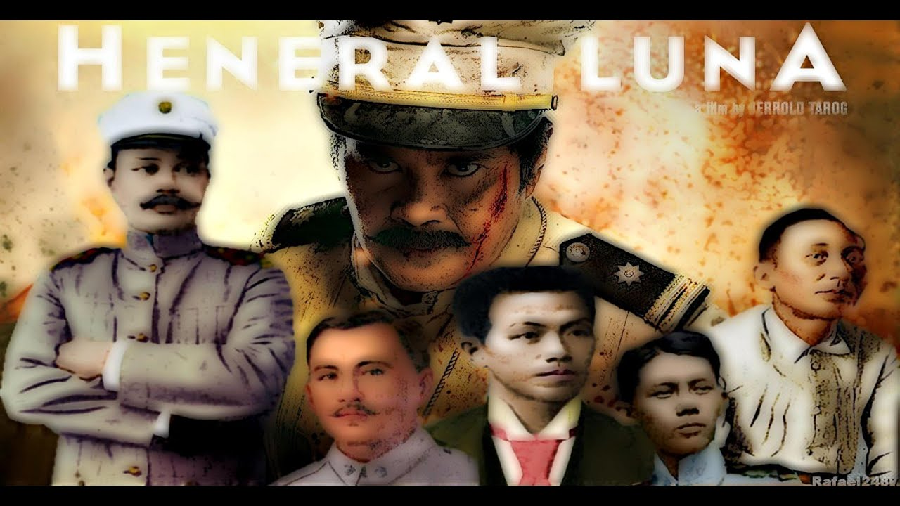 Heneral Luna The Movie 2015 The Cast And Their Real Life Counterparts Hd Youtube