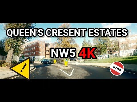 QUEENS CRESENT ESTATES - QC - KENTISH TOWN - CAMDEN- NW5 || LONDON HOODS IN 4K 2020