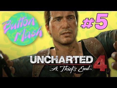Uncharted 4: Raef LaFrentz - Part 5 - Button Mash