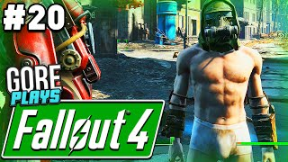 GETTING NAKED!   Gore Plays - Fallout 4 - Part 20