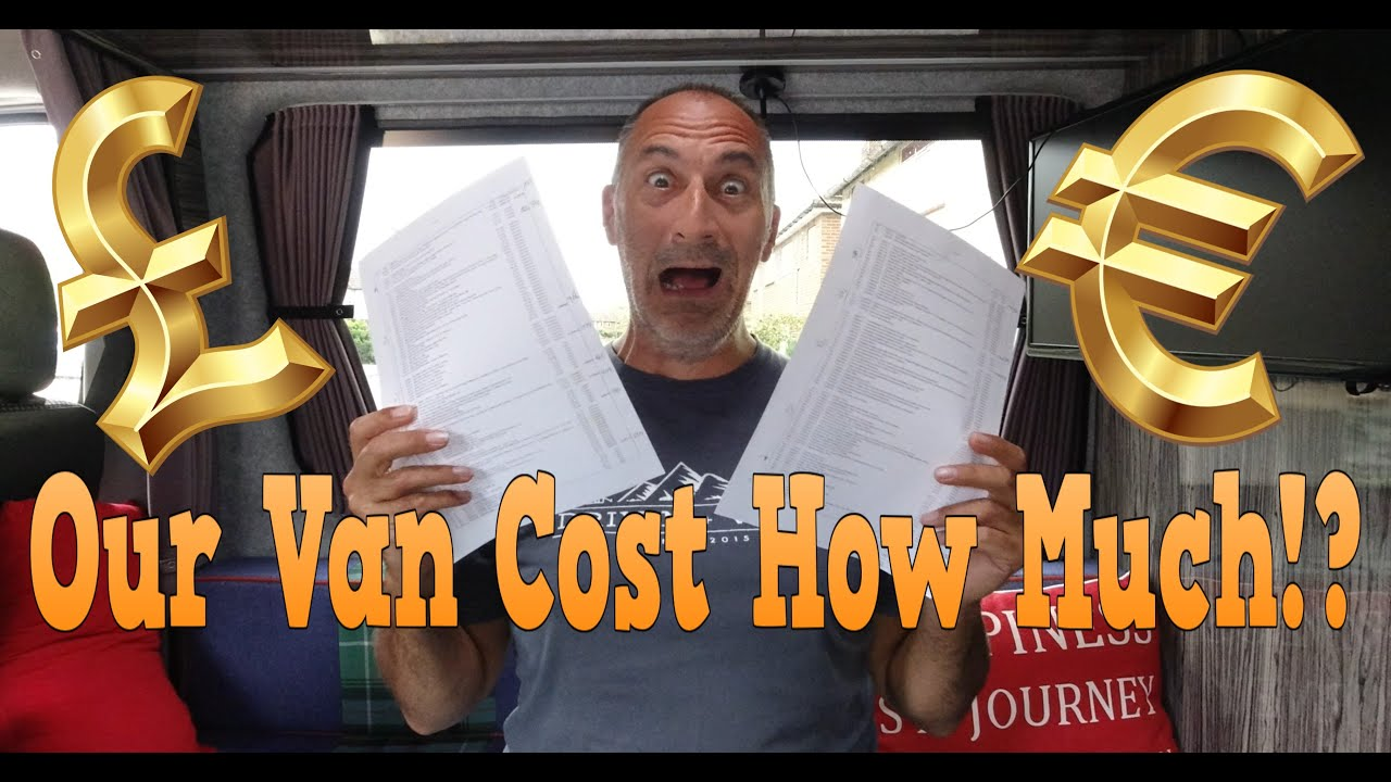 VAN BUILD COST! How Much Was Our Self Build Van Conversion?