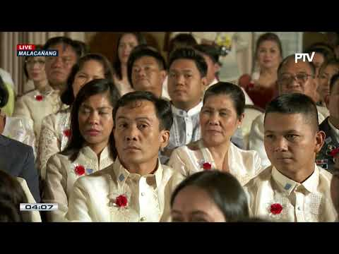 President Rodrigo Duterte graces the Conferment Ceremony of the Gawad Executive Service and the 2017