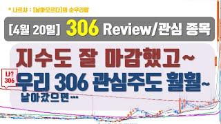 [4.20] 306 Review 및 관심종목 - 국일신…