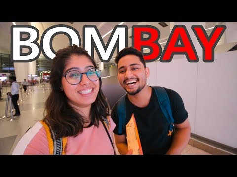 Delhi to Bombay | My First Airplane Experience | Stray Artist