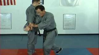 Ji, Han Jae Hapkido Cross Hand Technique 2.avi