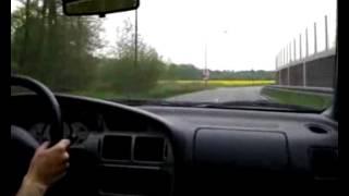 Proton Satria GTI (4G93) Driving