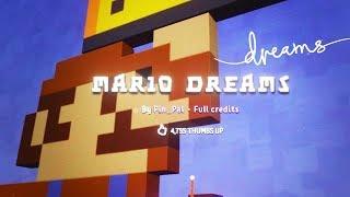 DREAMS - Mario Dreams, Ramp 3D, Kokiri Forest, A Haunted Mansion - Playstation 4