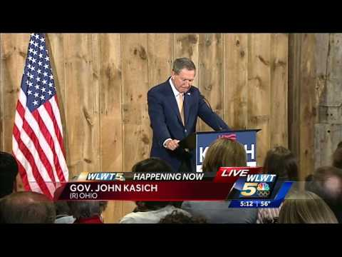 John Kasich announces suspension of presidential campaign