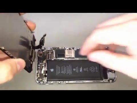 iphone 6 reparatur wasserschaden gewinde abgerissen german youtube. Black Bedroom Furniture Sets. Home Design Ideas