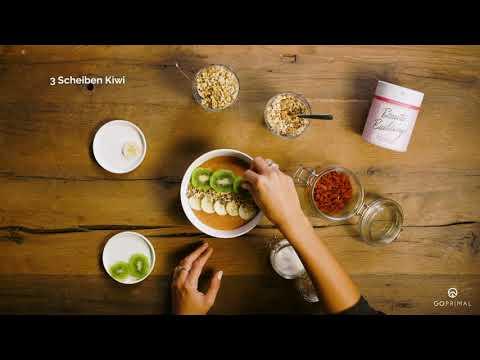 Superfood Rezepte von GoPrimal | Energy Fruit bowl