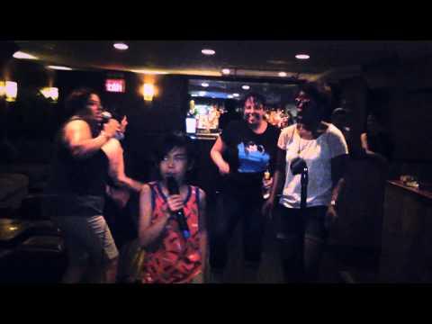 Uptown Funk - karaoke performance