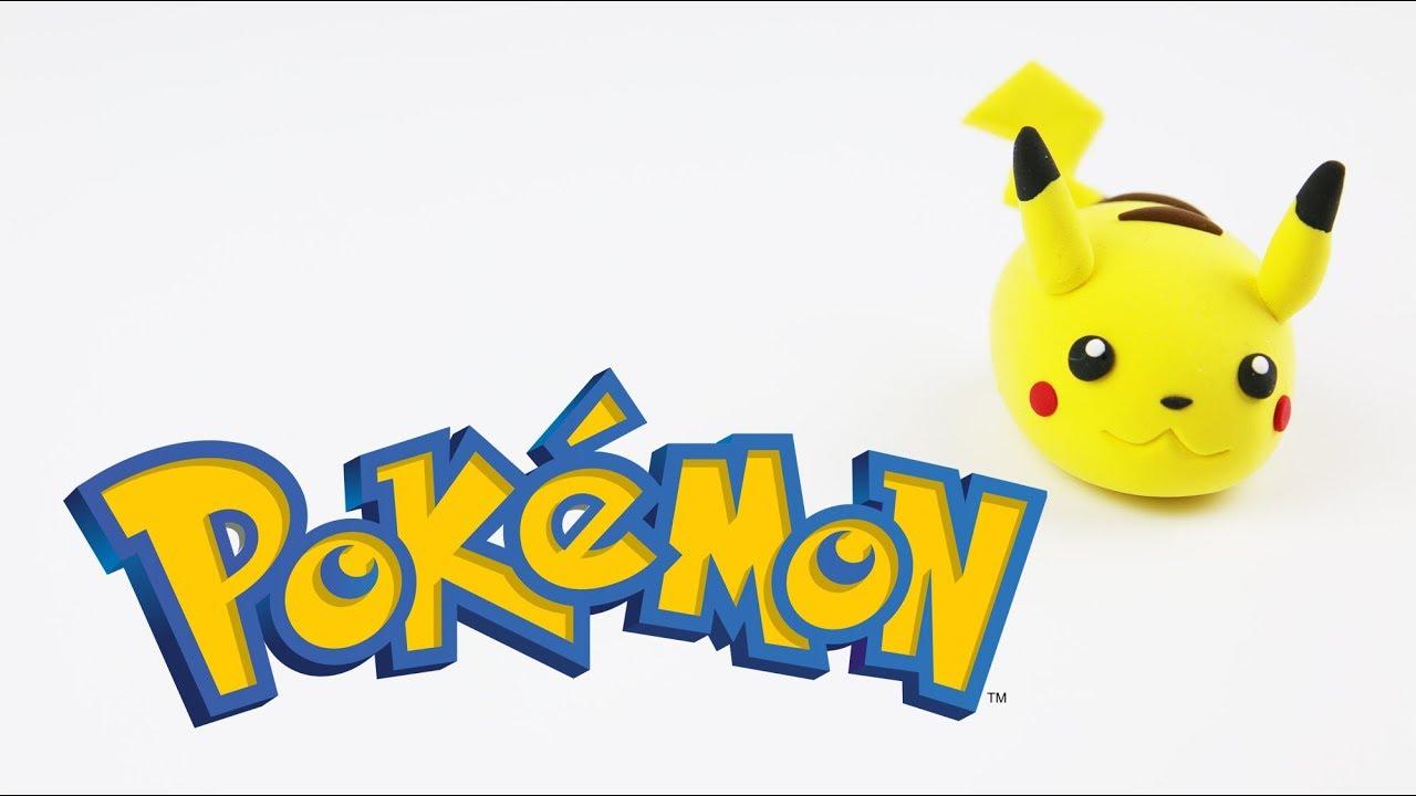 How to make Pikachu(Pokemon) Tsum Tsum with clay