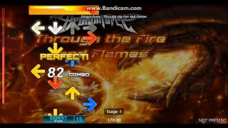 Through the Fire and Flames - Stepmania
