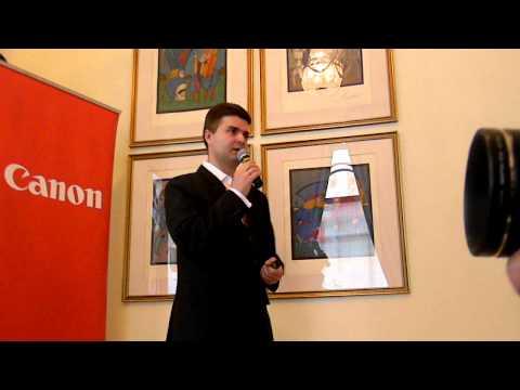 Презентация новой линейки принтеров Canon