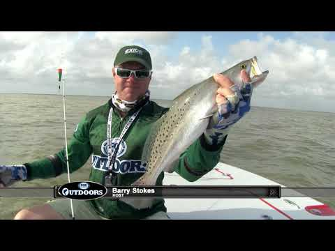 FOX Sports Outdoors SouthWEST #14 East Matagorda Bay Speckled Trout Fishing