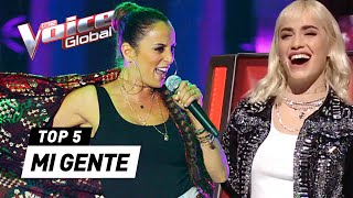 BEST MI GENTE covers on The Voice