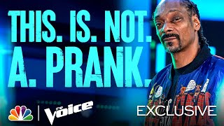 This Is Not a Joke! It's Not a Prank! It's Snoop Dogg's Mega Mentor Announcement - The Voice 2021