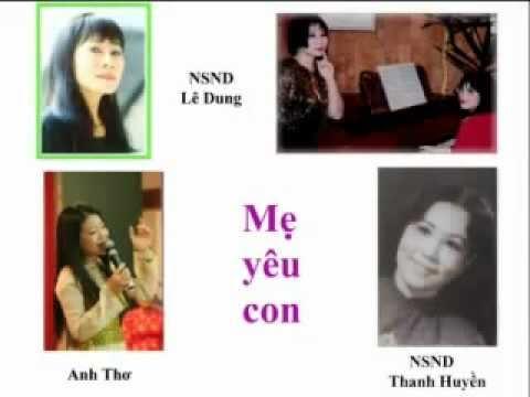 YouTube   Mẹ yêu con   Anh Thơ Lê Dung Thanh Huyền