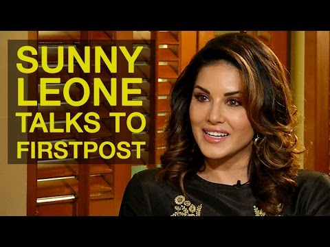 Sunny Leone Exclusive Interview with Firstpost