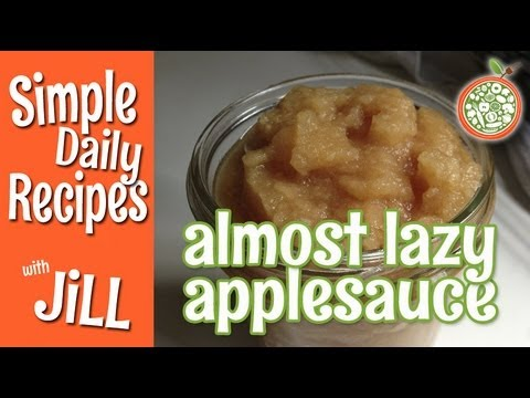 Use Tired Apples to Make Fresh Applesauce