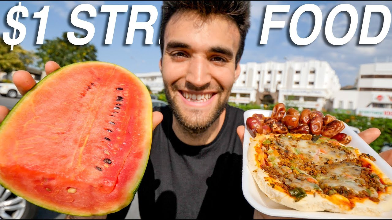 The INCREDIBLE $1 STREET FOOD CHALLENGE in MUSCAT, OMAN!