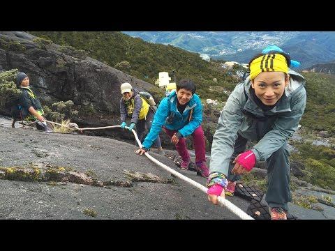 Lady Team Climbing Mount Kinabalu via Kota Belud Trail