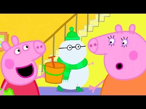 Видео: Свинка Пеппа на русском все серии подряд | Свиновик | Мультики