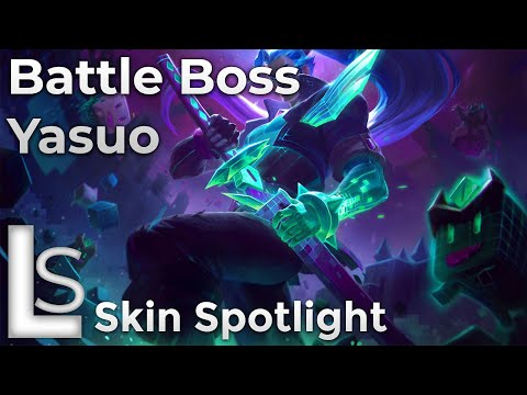 Battle Boss Yasuo - Skin Spotlight - Arcade: Battle Bosses - League of Legends - Patch 10.13.1