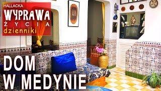 Asilah - Maroko dom w medynie - dzienniki