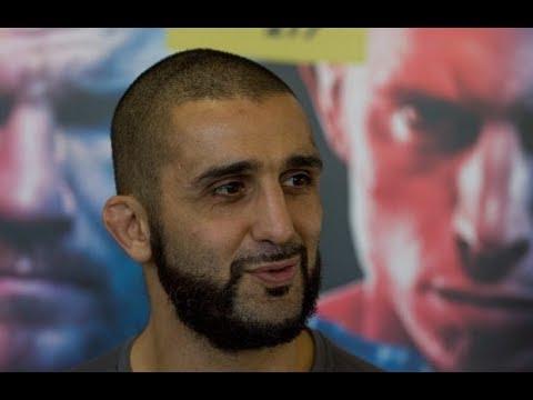 Media Scrum with Firas Zahabi at UFC 217 Media Day