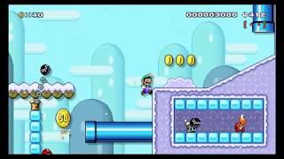 Mario Maker 2 - Snow Cone