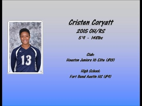 2015 Outside Hitter/Right Side Cristen Coryatt