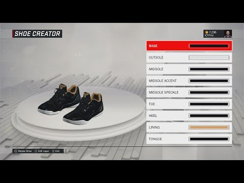 "NBA 2K17 Shoe Creator - ""ZO2 Prime""   HOW TO MAKE LONZO BALL'S SIGNATURE SHOE IN NBA 2K17"